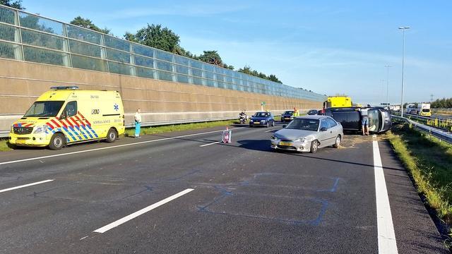 Ongeval op A16 bij afslag Breda Noord