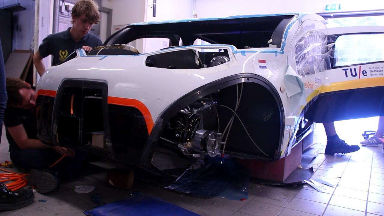 Met deze auto moet Solar Team Eindhoven wereldkampioen worden