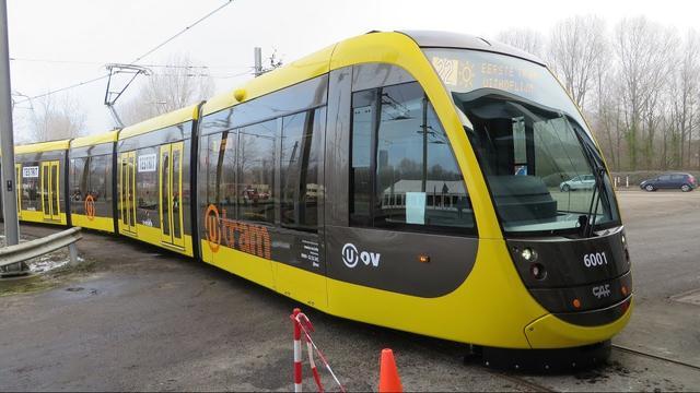 Geluidsoverlast door nachtelijke testritten Uithoflijn-trams