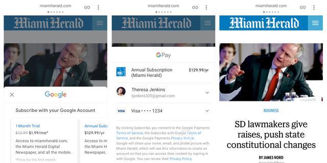 Google gaat namens media abonnementen verkopen