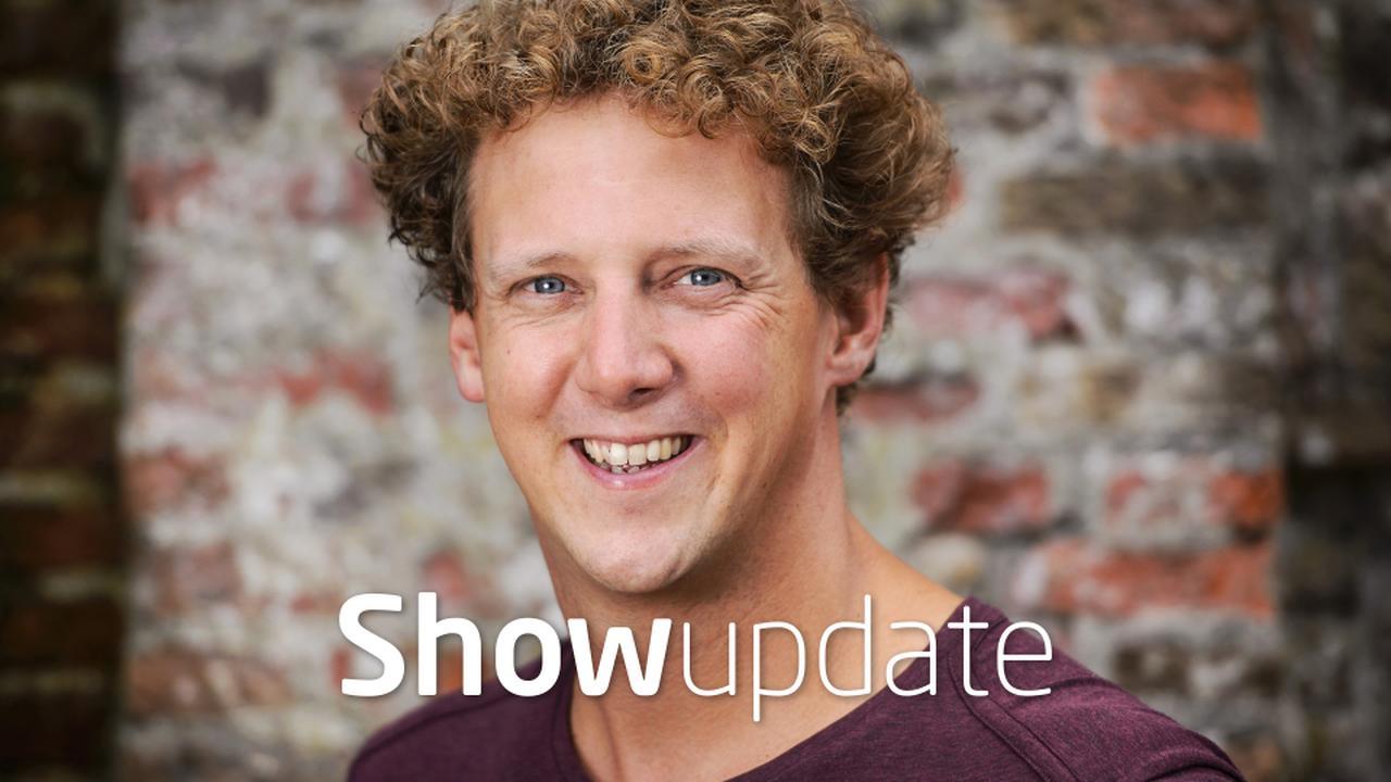 Show Update: Jochem Myjer in nood