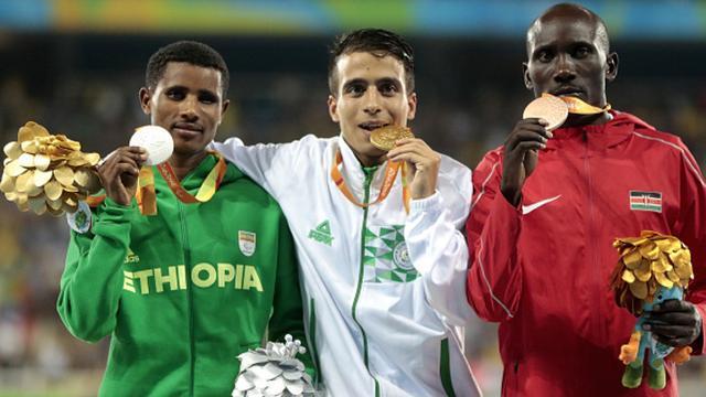 Vier paralympiërs lopen sneller op 1500 meter dan olympisch kampioen