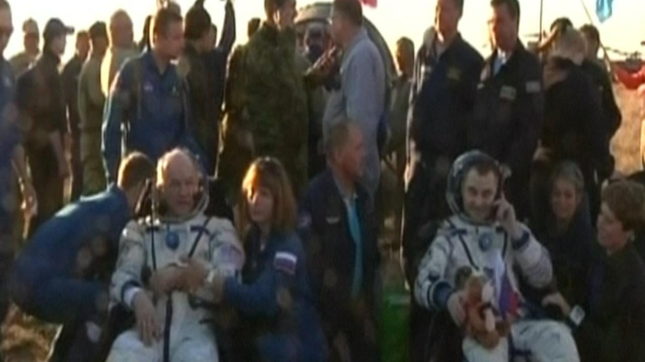 Ruimtecrew uit VS en Rusland na 172 dagen terug op aarde