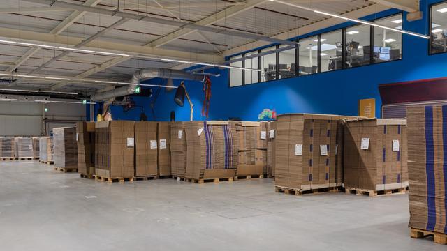 Tienduizenden pakketjes later bezorgd door overval distributiecentrum bol.com