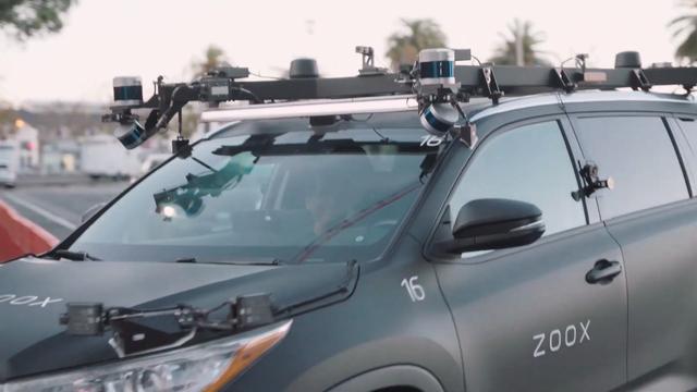 Amazon-bedrijf Zoox mag in Californië auto's zonder bestuurder testen
