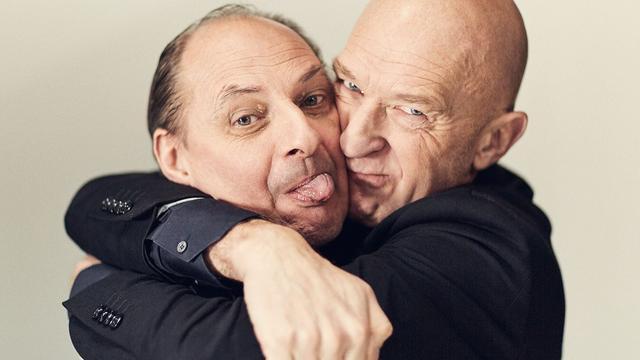 Cabaretduo Waardenberg en De Jong maakt na twintig jaar theatershow
