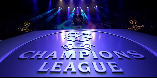 Returns achtste finales Champions League gespeeld in stadion thuisclub