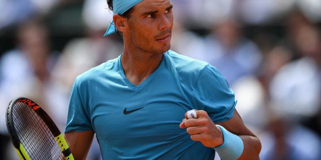Nadal zonder setverlies naar kwartfinales Roland Garros