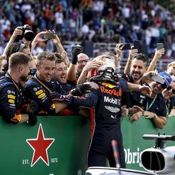 Teambaas Horner looft Verstappen na 'briljante race' in Brazilië