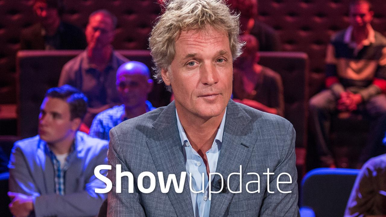 Show Update: 'Jeroen Pauw hand in hand met nieuwe vriendin'
