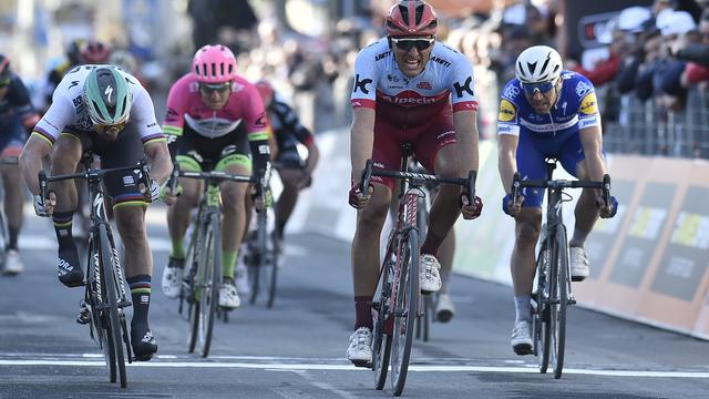 Kittel sprint naar tweede etappewinst in Tirreno-Adriatico
