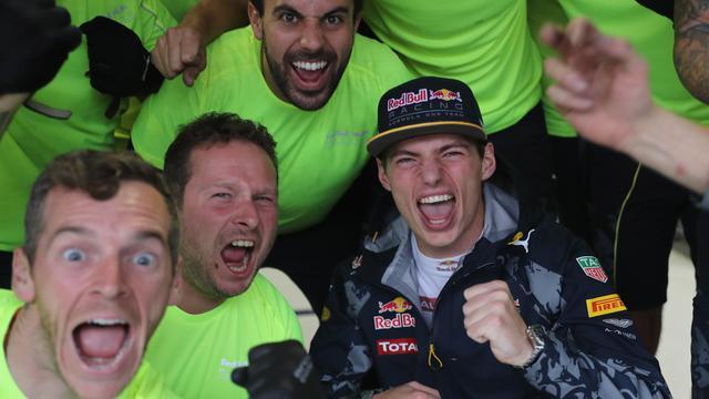 Formule 1-wereld lyrisch over optreden Verstappen