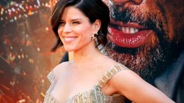 Scream-actrice Neve Campbell verliet Hollywood tijdelijk voor rust in Londen