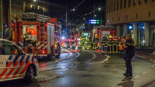 Dode en gewonden bij grote brand in centrum Den Haag