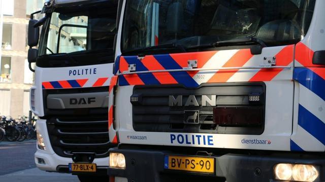 Politie neemt nieuwe kraanwagen in gebruik