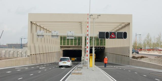 Stadsbaantunnel Leidsche Rijn dinsdag in gebruik