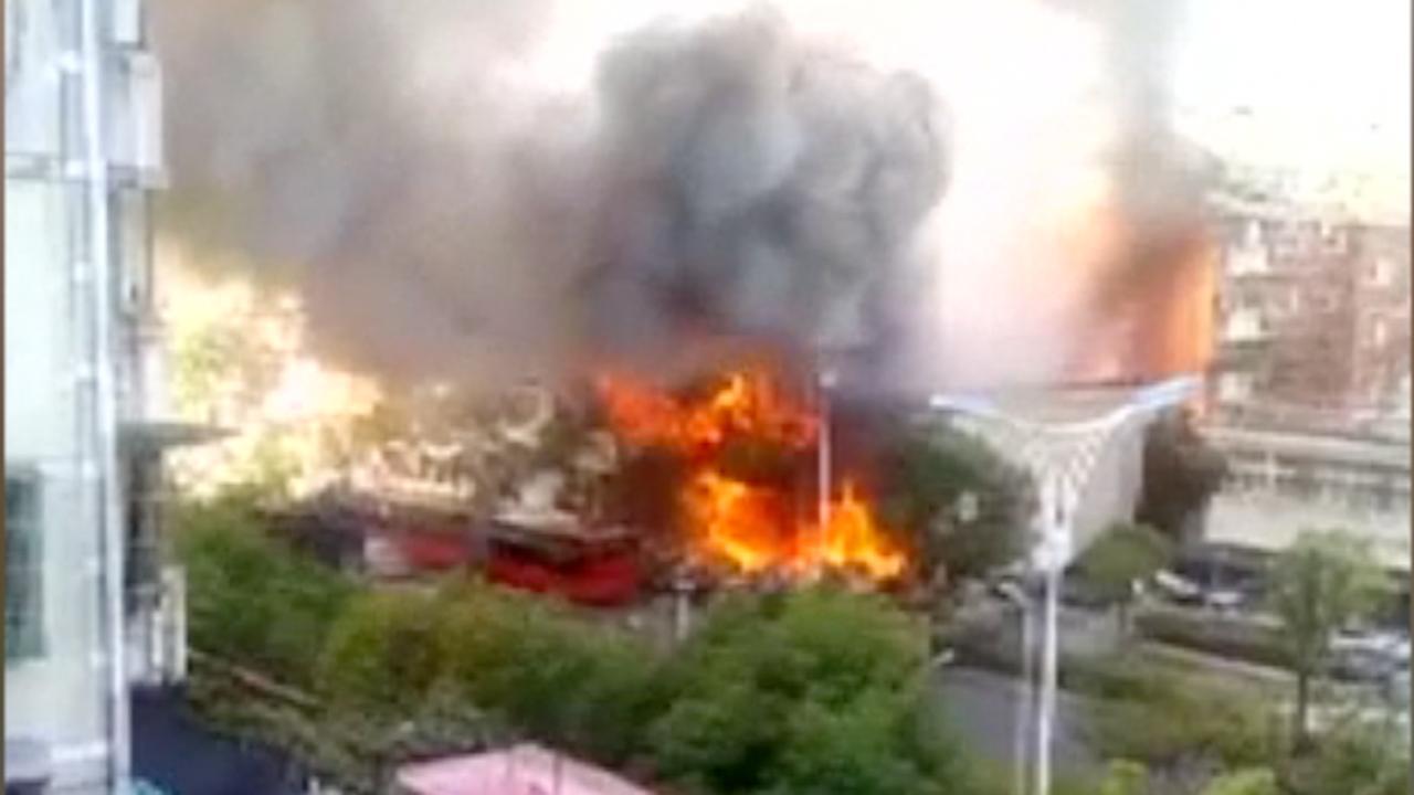 Doden en gewonden na gasexplosie in China