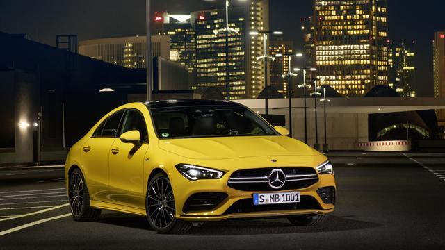Mercedes-Benz CLA straks ook in 35 AMG-uitvoering leverbaar