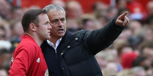Mourinho wil niets weten van vertrek Rooney bij Manchester United
