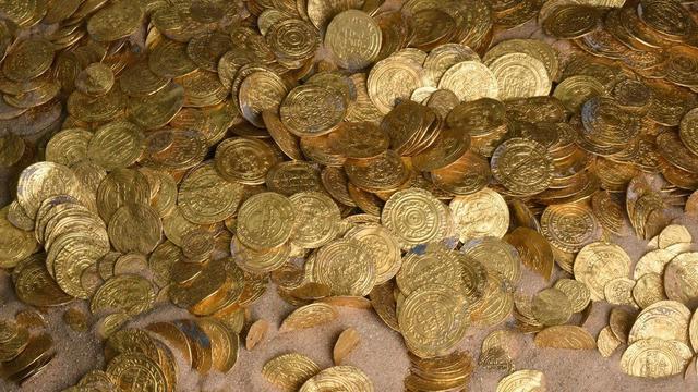 Romeinse 'goudschat' van Britten blijkt nepgeld van tv-show
