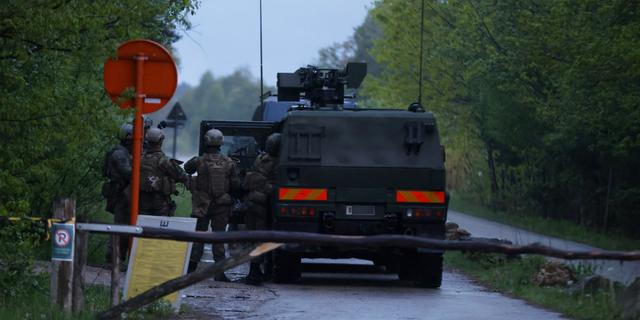 Voortvluchtige Belgische militair niet gevonden na uitkammen bos