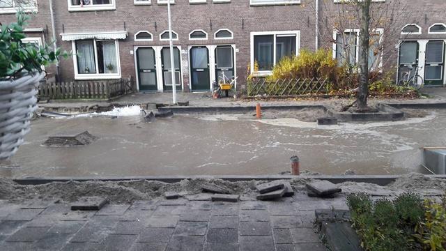 Werkzaamheden leiden tot wateroverlast in de Kooi