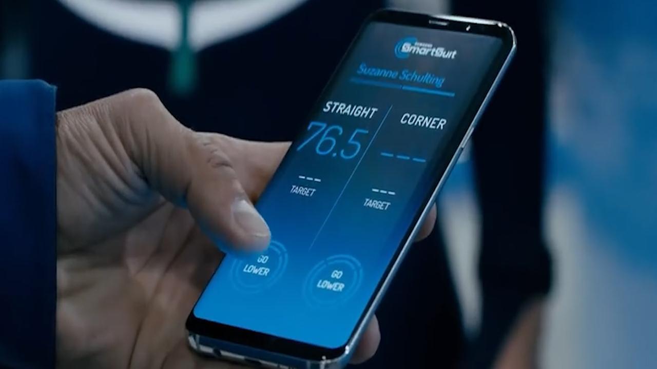 Samsung ontwikkelt slim schaatspak voor shorttrackers