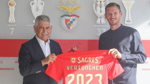 Transfervrije Vertonghen vindt met Benfica nieuwe club