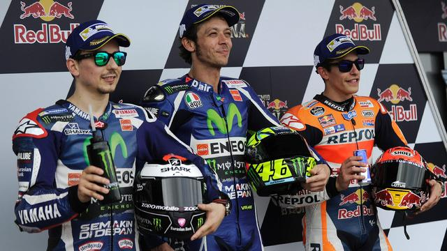 Rossi start vanaf pole position in Grand Prix van Spanje