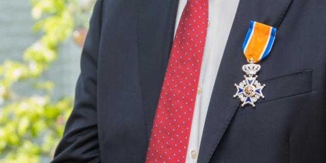 Rien Jonkers benoemd tot Ridder in Orde van Oranje-Nassau
