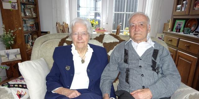 Oostkapels paar is zeventig jaar getrouwd