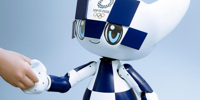 Dit is Miraitowa, de robotmascotte van de Olympische Spelen in Tokio