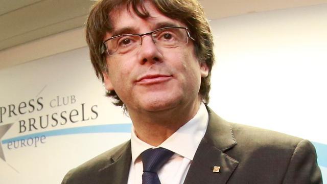 Afgezette Catalaanse leider Puigdemont niet naar Spaans hof
