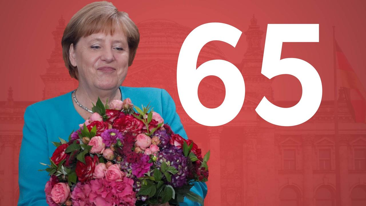 Merkel 65 jaar: DDR-activist, ingetogen en 'wir schaffen das'