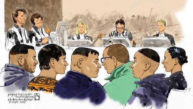 Poging helikopterkaping niet bewezen, rechter legt 30 maanden cel op