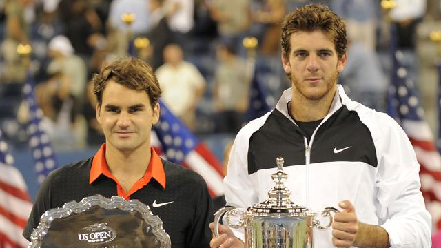 Del Potro won US Open in 2009