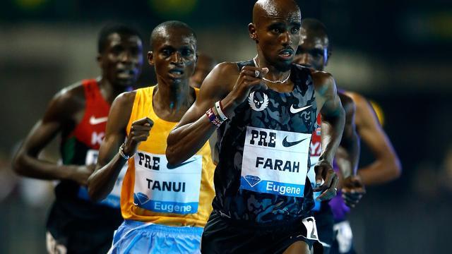 Olympisch kampioen Farah blijft ongeslagen op 10 kilometer