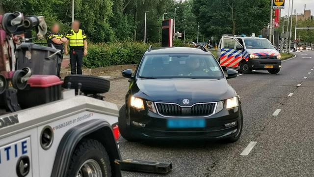 Rotterdamse taxichauffeur gearresteerd voor rijden met ongeldig rijbewijs