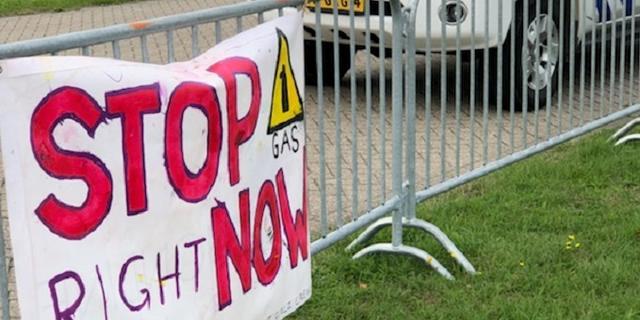 Actievoerders beëindigen blokkade NAM-locatie Farmsum