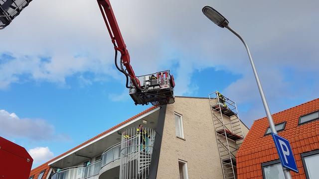 Brandweer probeert al drie dagen kat uit muur in Westland te bevrijden