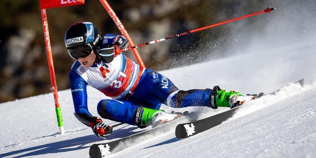 Nederlandse alpineskiester Jelinkova schrijft historie: 'En dat maakt me trots'
