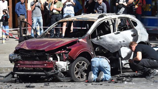 Russische journalist komt om door autobom in Kiev