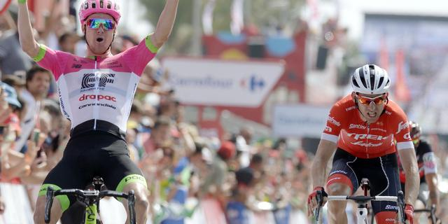 Mollema wederom tweede in Vuelta-rit, Yates nieuwe leider