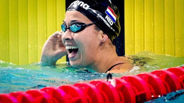 Kromowidjojo wint 50 vlinder, Sjöstrom zwemt wereldrecord op 200 vrij