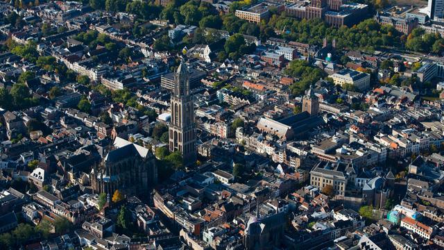 Wind en wolken in Utrecht in het weekeinde