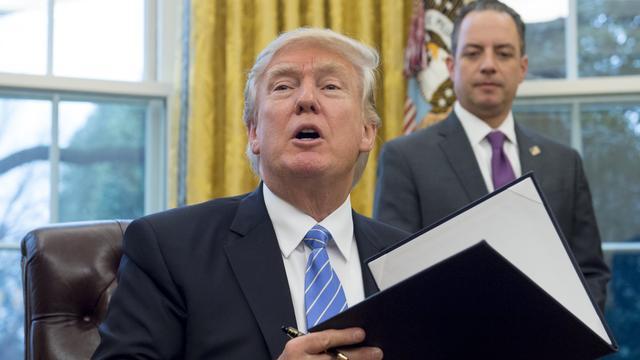 Overzicht: Deze beslissingen heeft Trump tot nu toe genomen