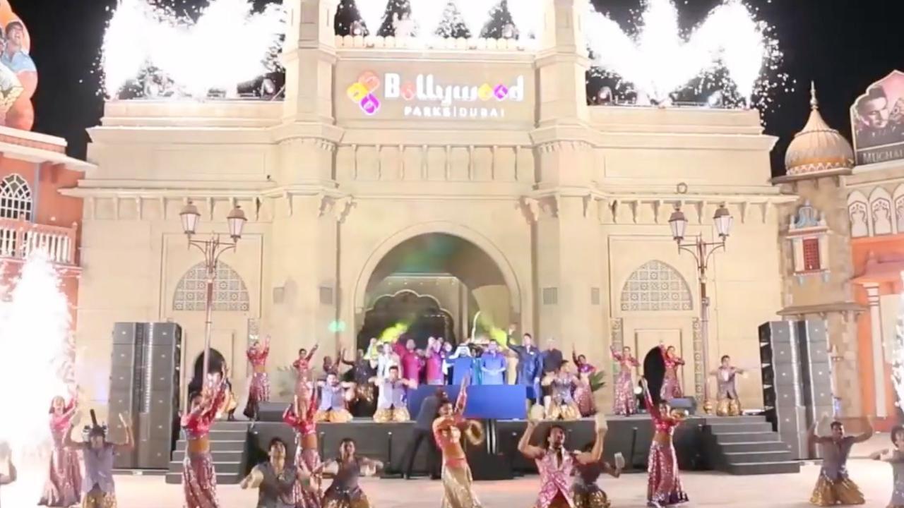 Bollywood-themapark geopend in Dubai