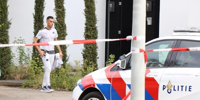 Vrouw en kinderen PSV'er Zahavi bedreigd met vuurwapen, monden afgeplakt