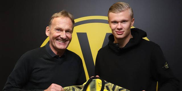 Borussia Dortmund neemt toptalent Haaland (19) over van Salzburg