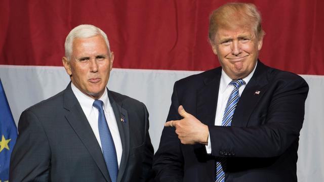 Donald Trump kiest Mike Pence als kandidaat vice-presidentschap